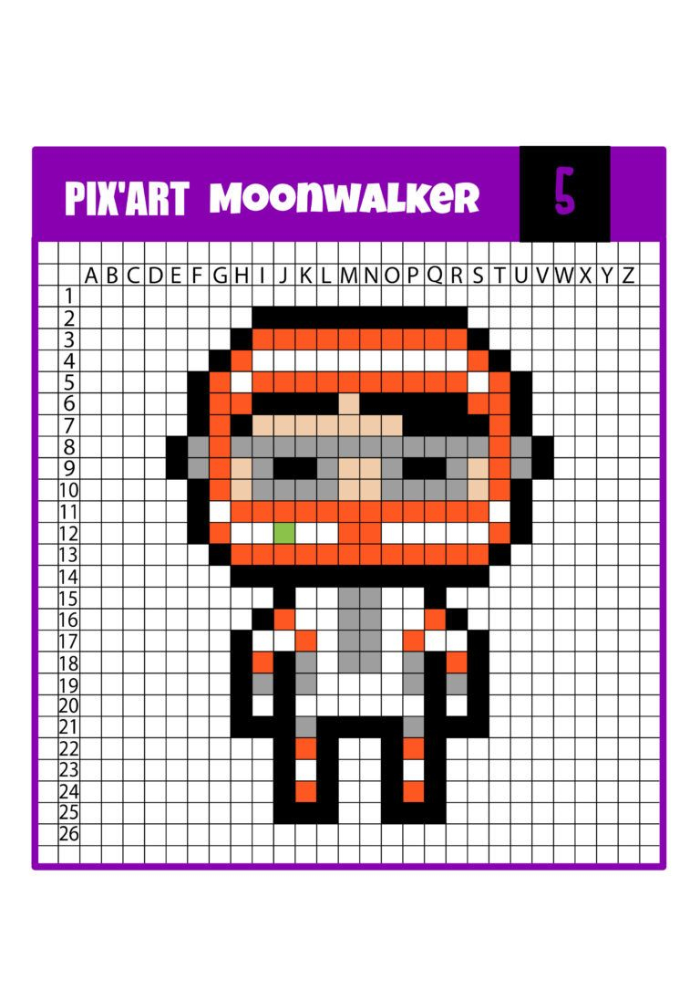 Pixel Art Fornite : 12 Modèles À Télécharger Gratuitement encequiconcerne Jeux De Dessin Pixel Art Gratuit