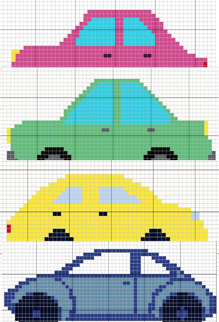 Pixel Art Templates Easy Patterns | Pixel Art, Pixel Art intérieur Voiture Pixel Art