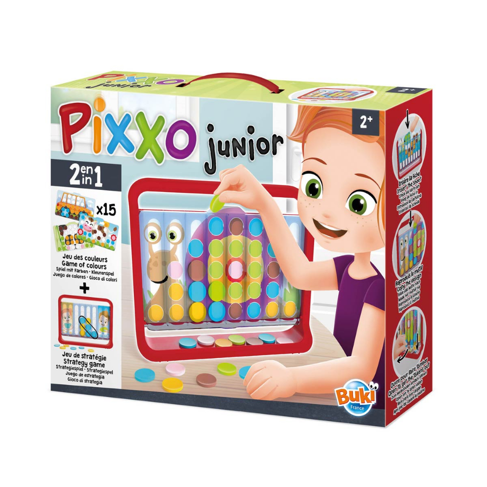 Pixxo Junior Buki | Jeux De Stratégie, Jeux Enfants Et Jeux avec Jeux Pour Enfant De Deux Ans