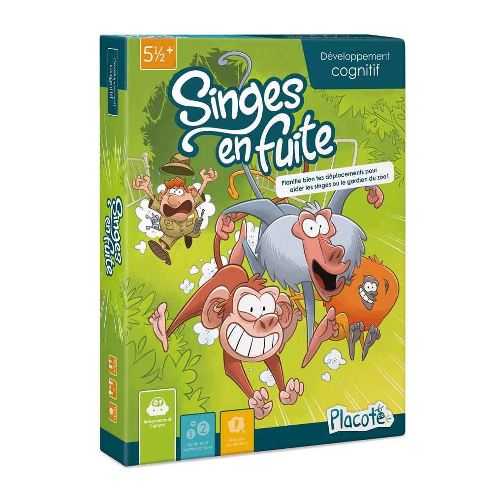 Placote - Singes En Fuite à Jeux Pc Enfant