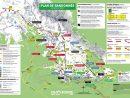 Plan Des Sentiers De Randonnée tout Carte De France Ludique