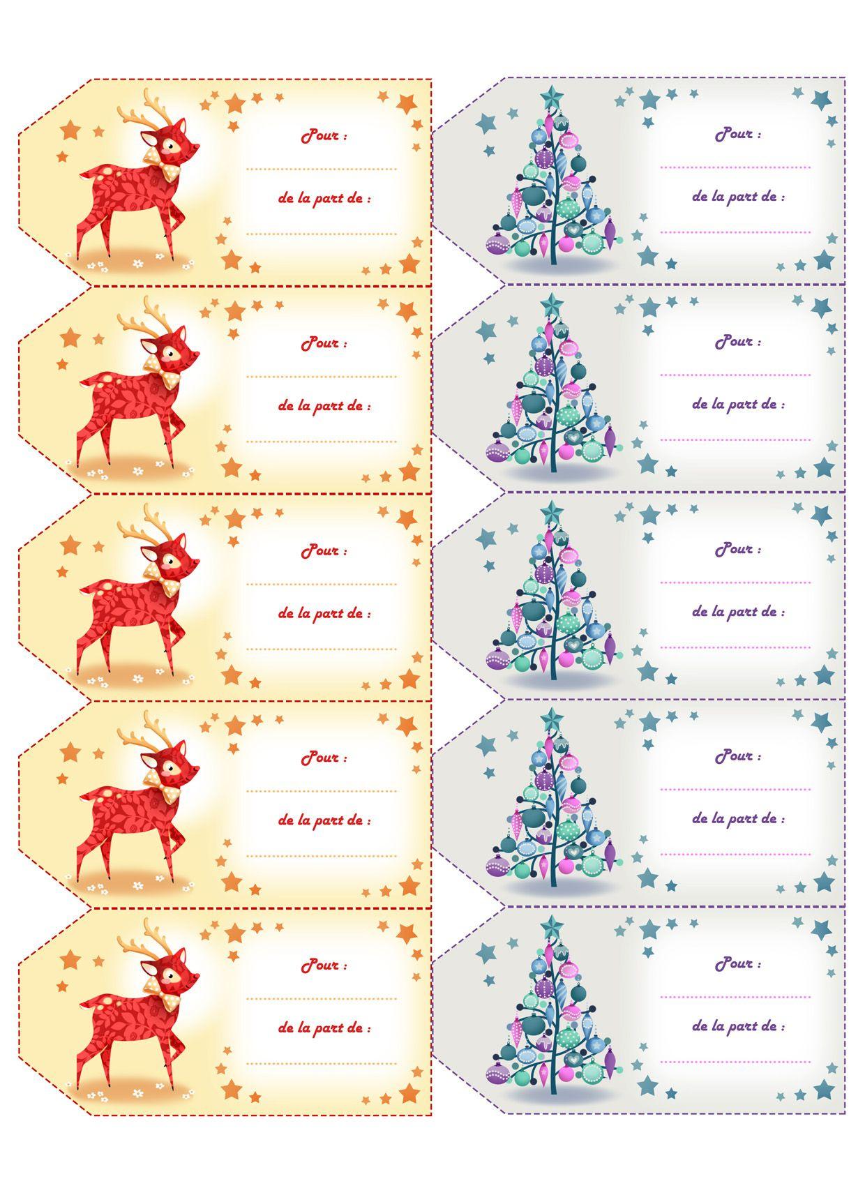 Planche Étiquettes Gratuites À Imprimer Gl68 | Jornalagora dedans Etiquette Cadeau Noel A Imprimer Gratuitement