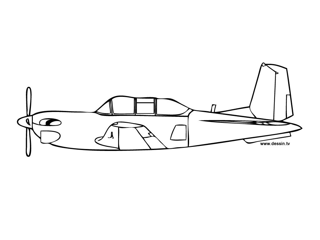 Plane #44 (Transportation) – Printable Coloring Pages concernant Ferrari A Colorier
