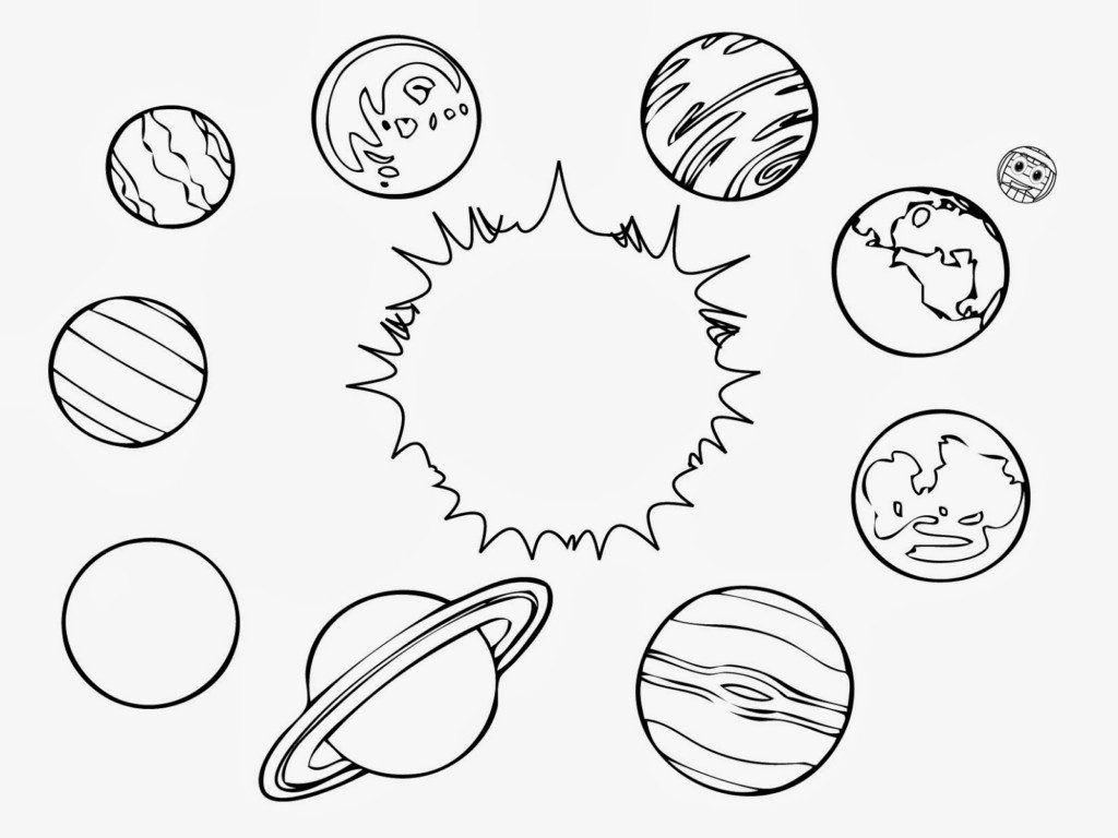 Planet Coloring Pages | Solaire, Bujo Et Dessin intérieur Dessin Du Système Solaire