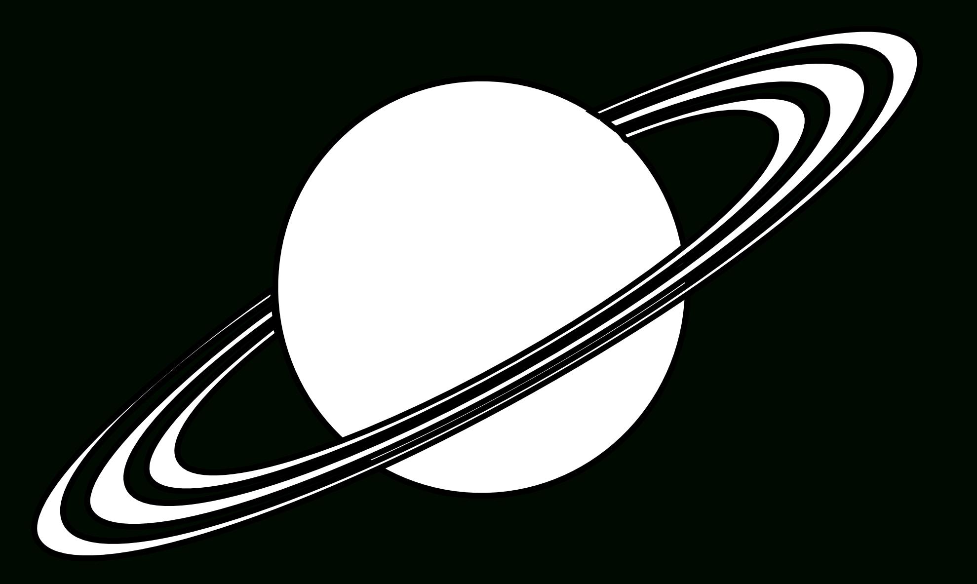Planète #38 (Nature) – Coloriages À Imprimer à Saturne Dessin