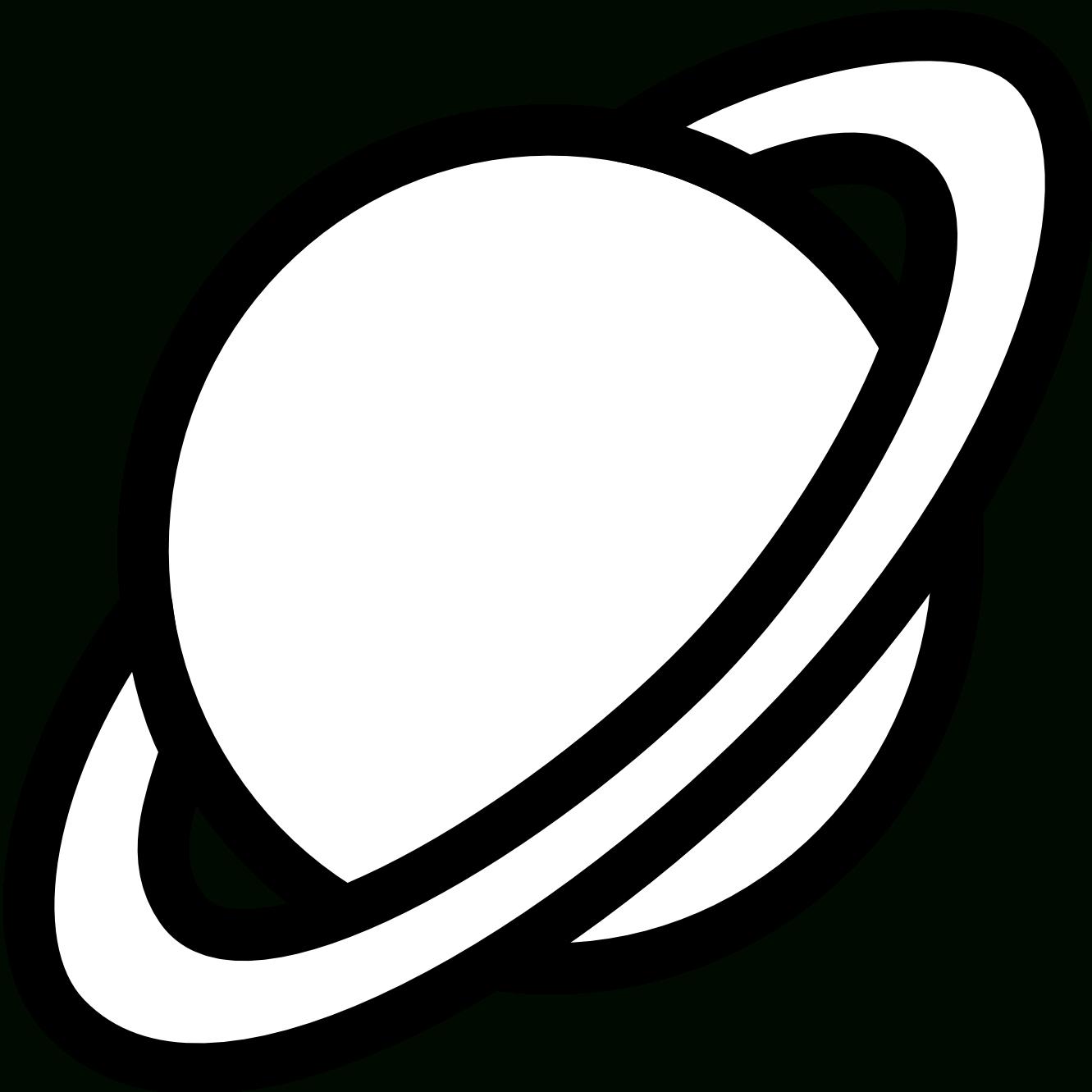 Planète #88 (Nature) – Coloriages À Imprimer tout Saturne Dessin