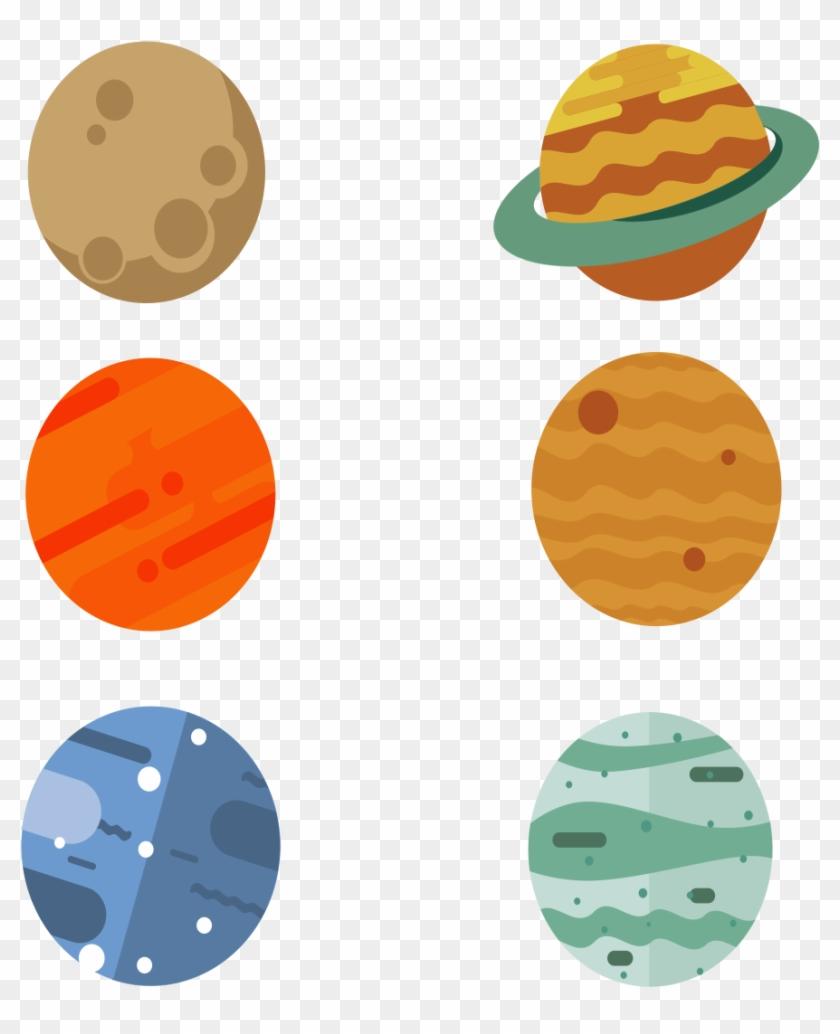Planète Système Solaire Dessin Animé Mignon Png Et - ดาว concernant Dessin Du Système Solaire