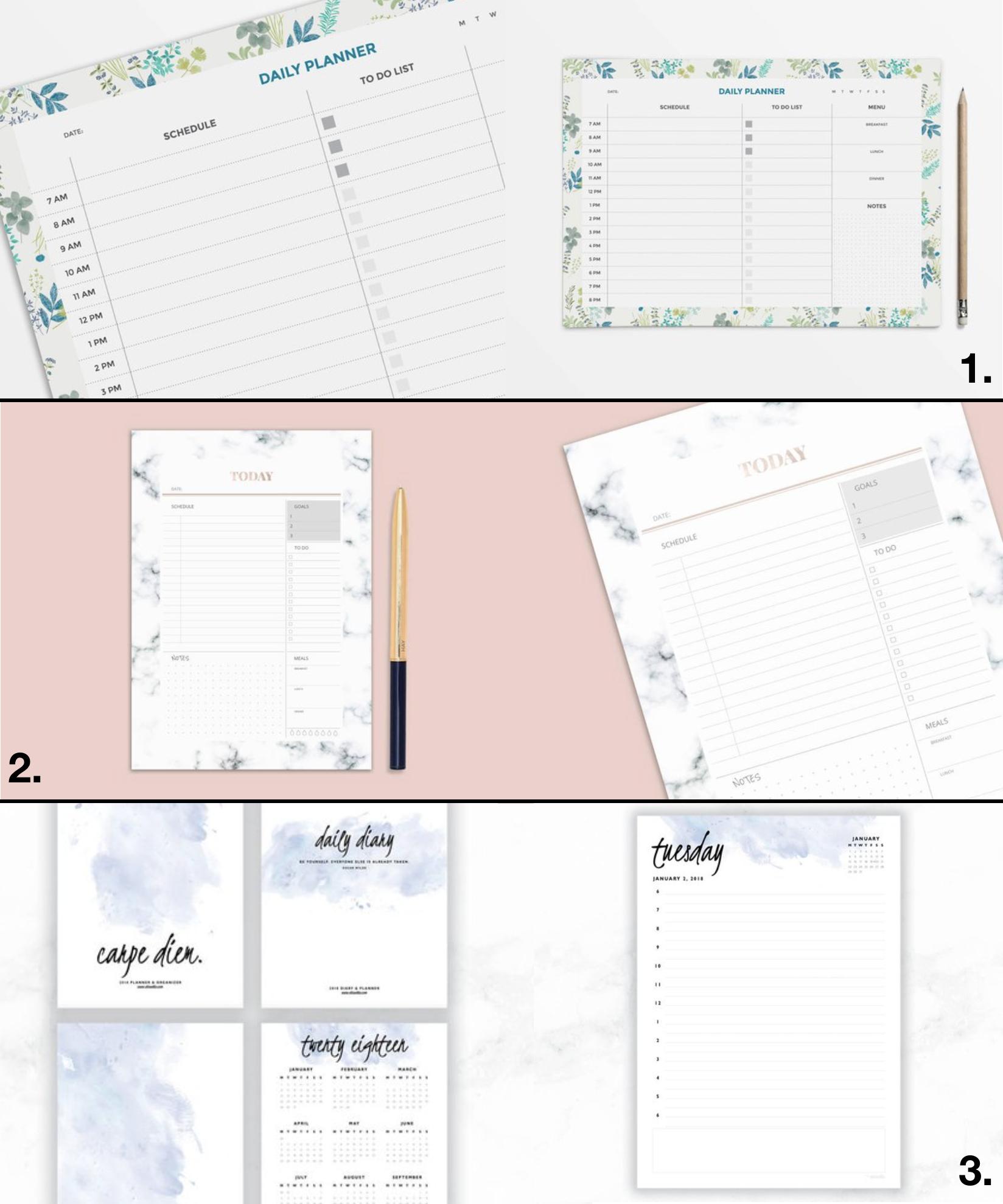 Planner À Imprimer : Ma Sélection - Clem Around The Corner encequiconcerne Journal De Vacances A Imprimer