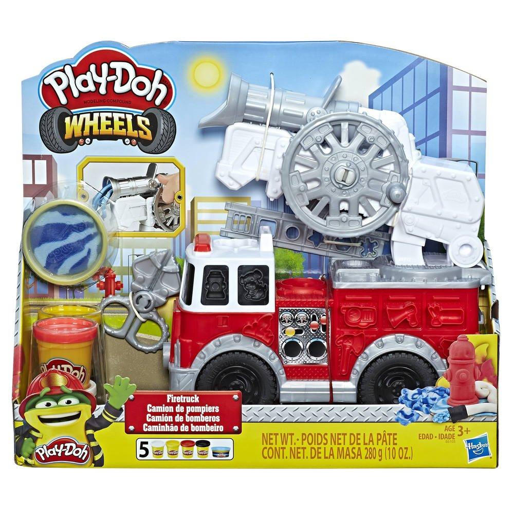Play Doh - La Camion De Pompier | Activites Creatives Et à Jeux De Camion De Pompier Gratuit