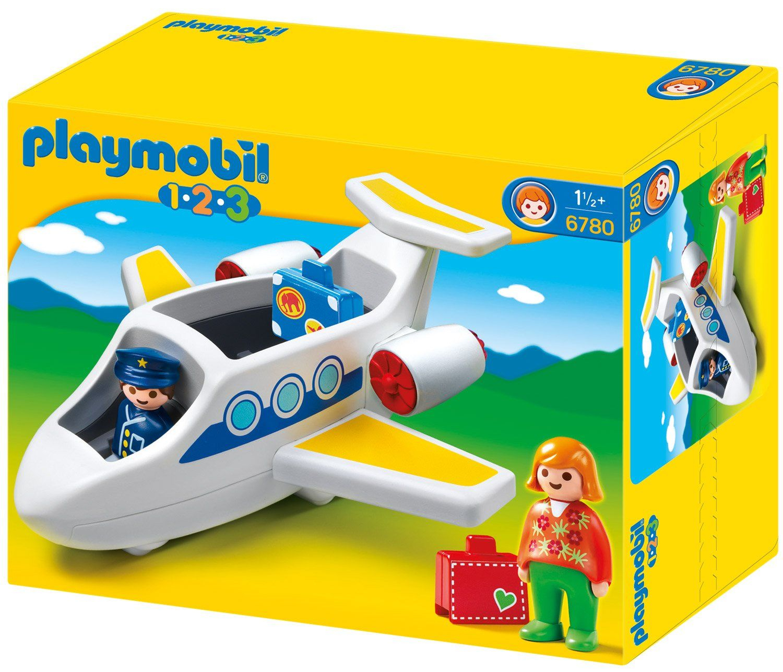 Playmobil - 6780 - Jeu De Construction - Avion De Ligne avec Jeux En Ligne Enfant 2 Ans