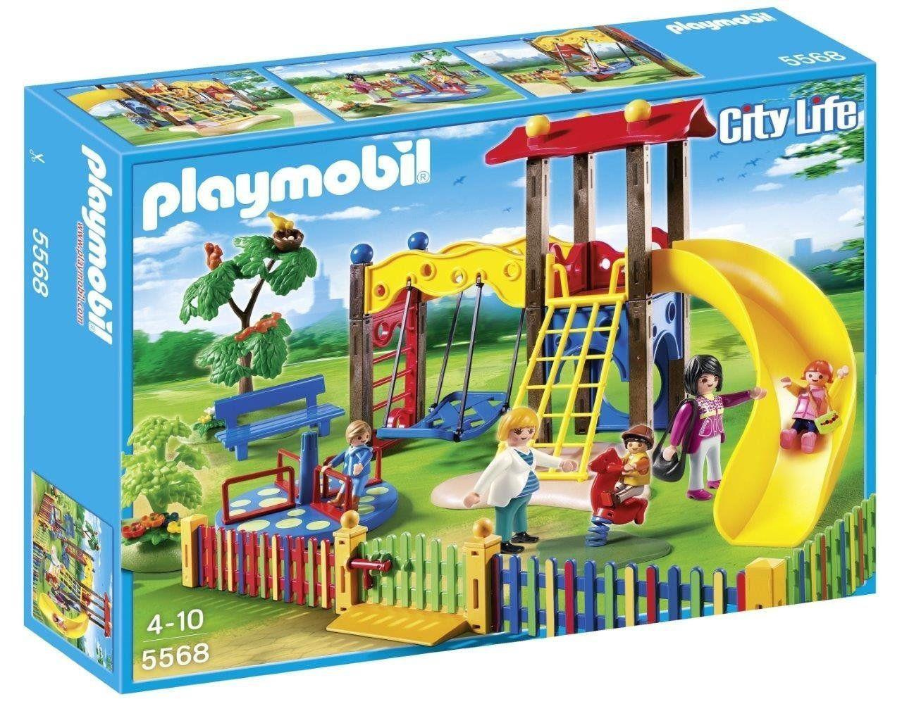 Playmobil City Life - Square Pour Enfants Avec Jeux intérieur Jeux De Garcon Gratuit 3 Ans