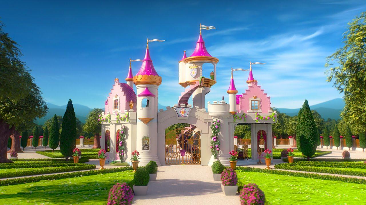 Playmobil Princesse D'un Jour - Le Film dedans Dessin Chateau Princesse