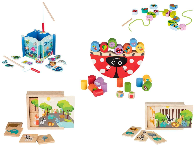 Playtive®Junior Jouets En Bois | Lidl destiné Jeux Ludique En Ligne