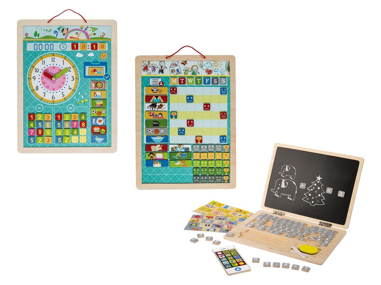 Playtive®Junior Set De Jeux Éducatifs En Bois | Lidl concernant Ordinateur Educatif Enfant