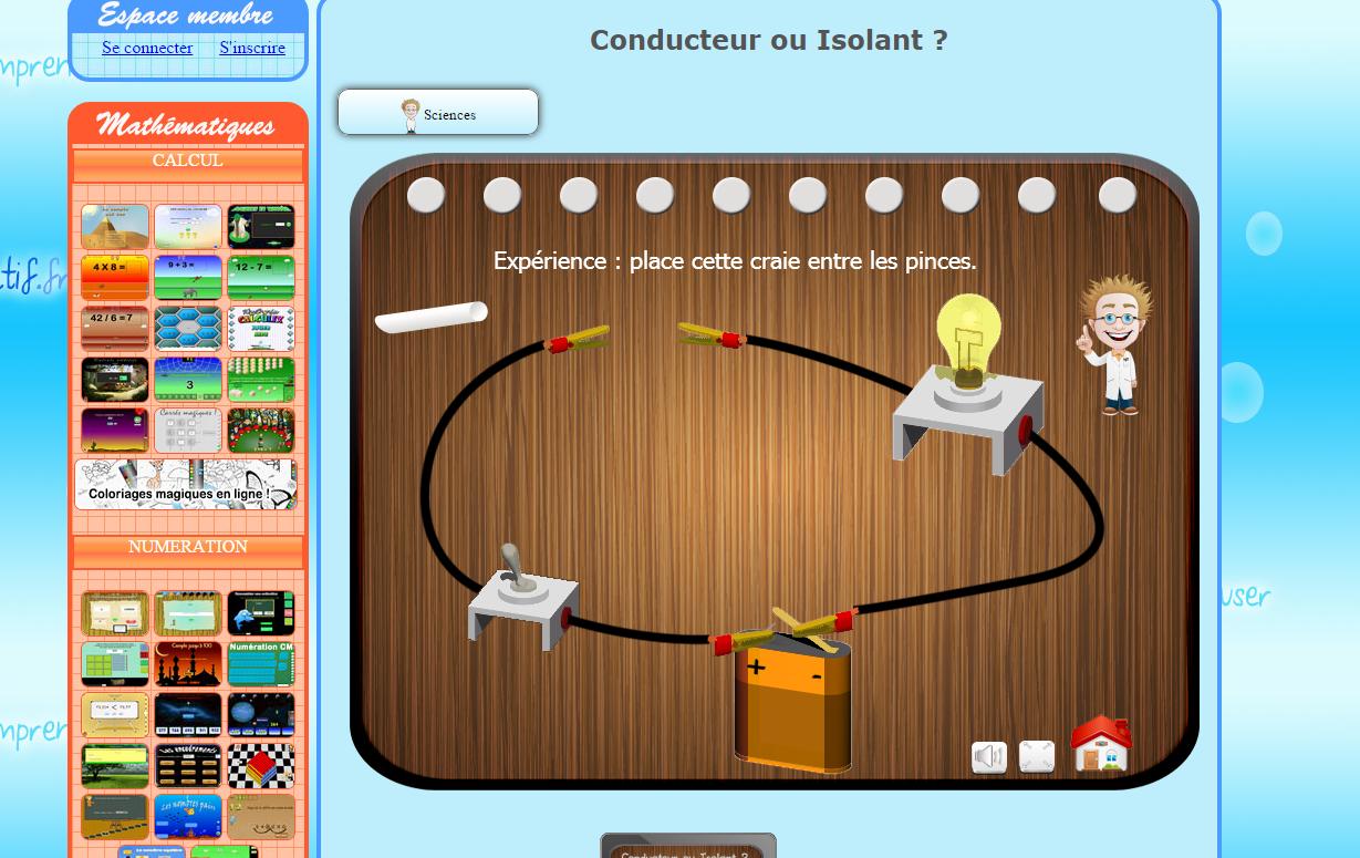 Plein De Jeux Pédagogiques En Ligne - Ressources Pour S pour Jeux Educatif Gratuit En Ligne
