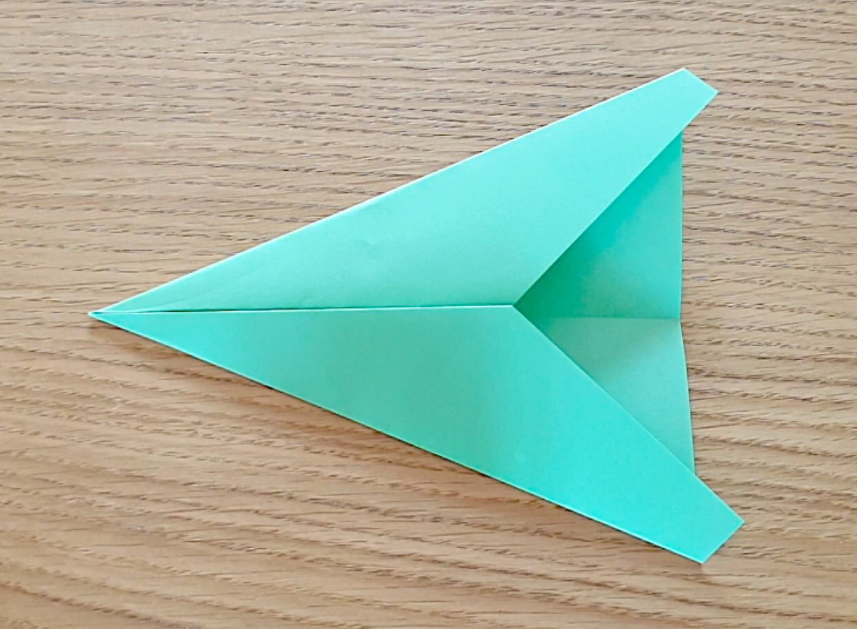Pliage Avion En Papier, Origami Avion En Vidéo pour Pliage Papier Enfant