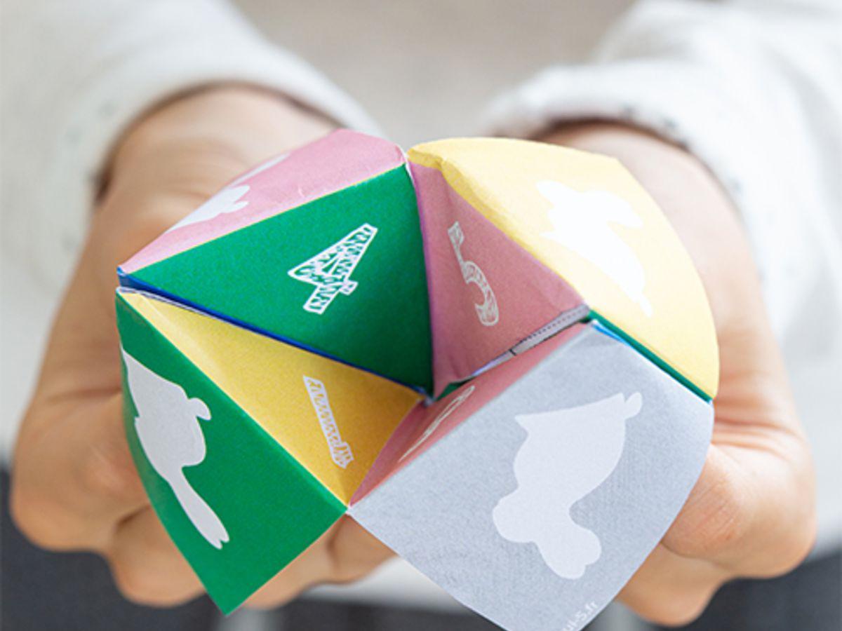 Pliage De Papier : Une Cocotte De Pâques Pour Jouer Avec Les à Pliage Papier Enfant