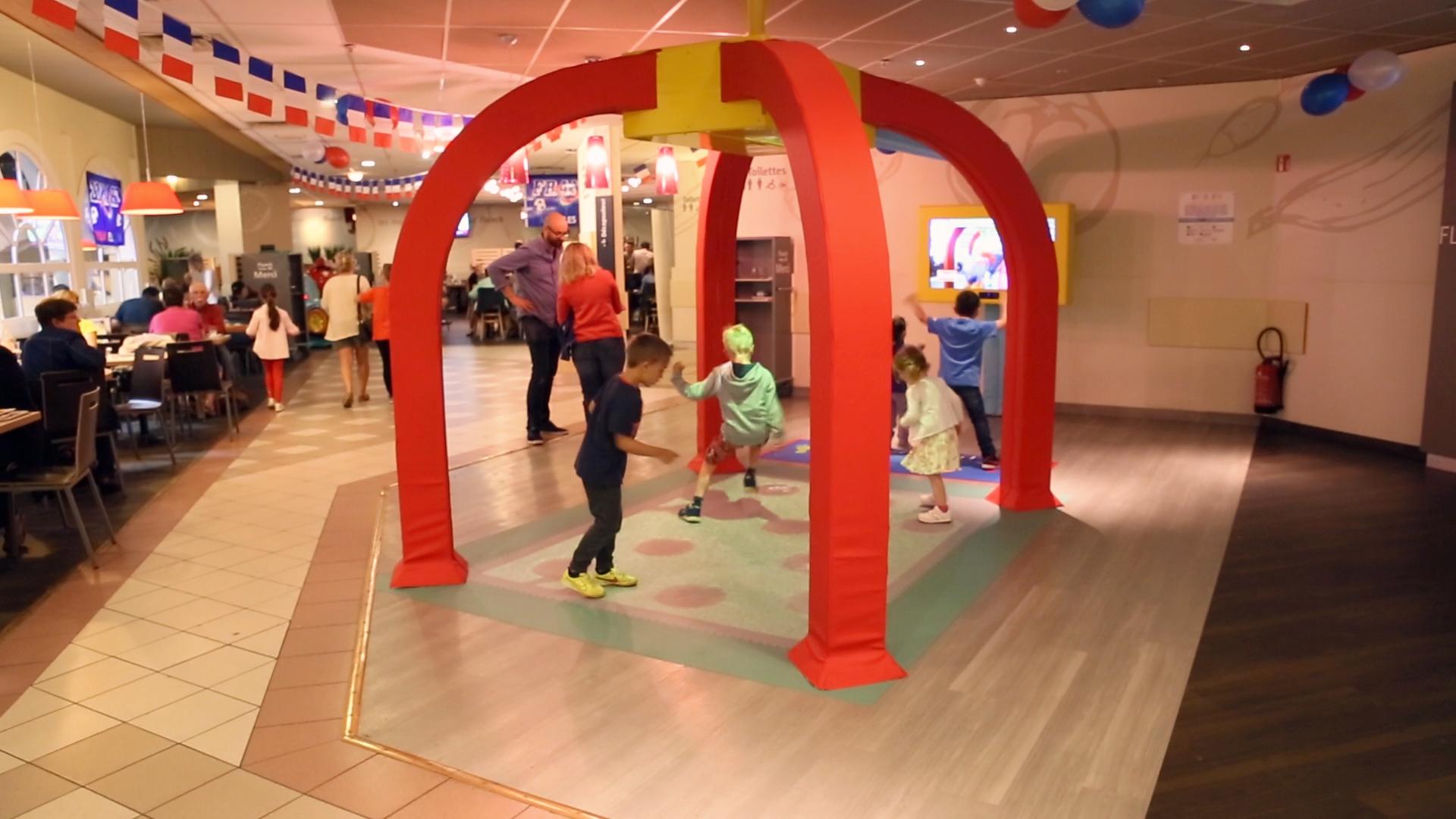 Plus De 80 Restaurants Flunch Équipés D'aires De Jeux destiné Jeu Interactif Enfant