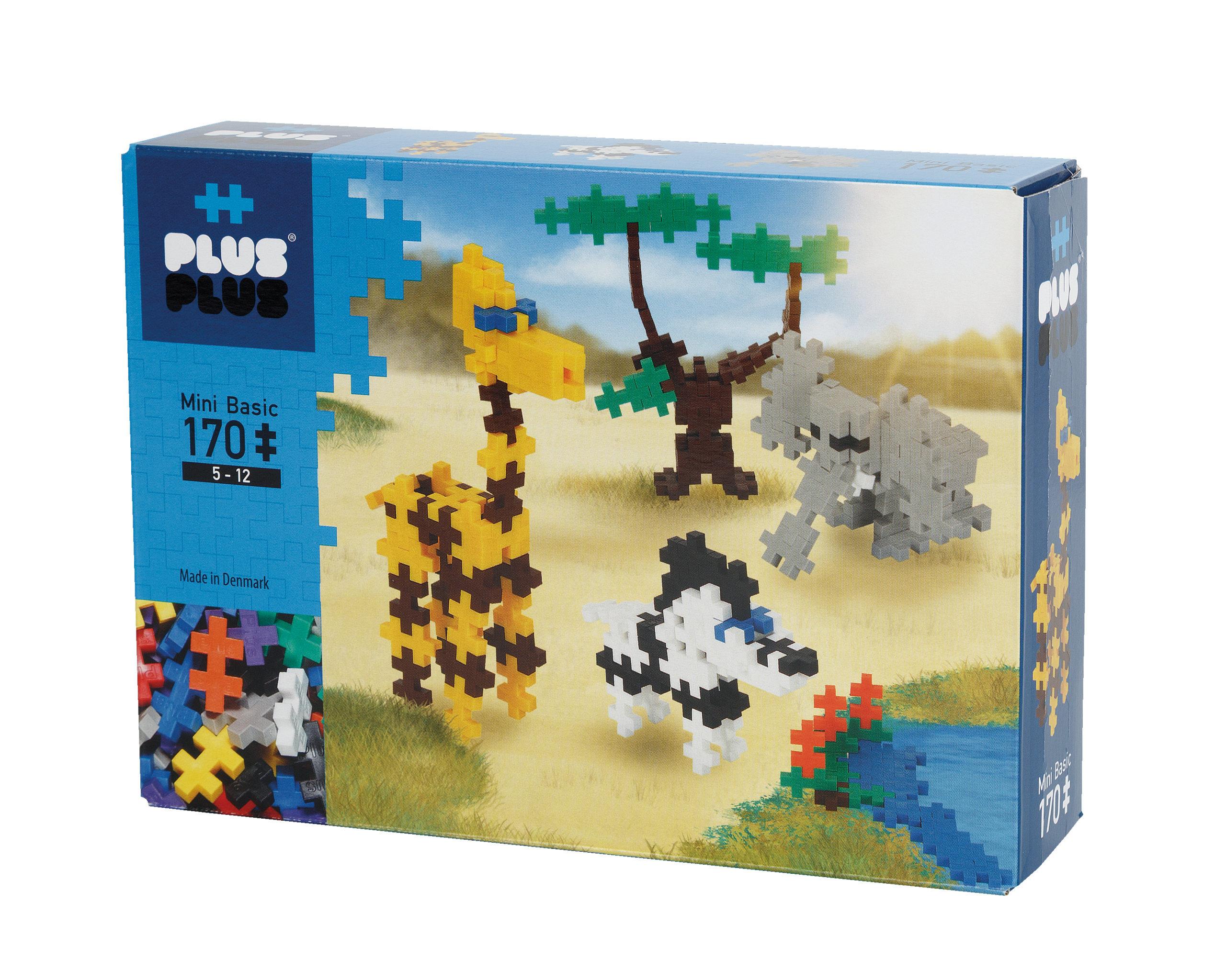 Plus Plus Mini Basic Savane - 170 Pieces à Jeux De Savane