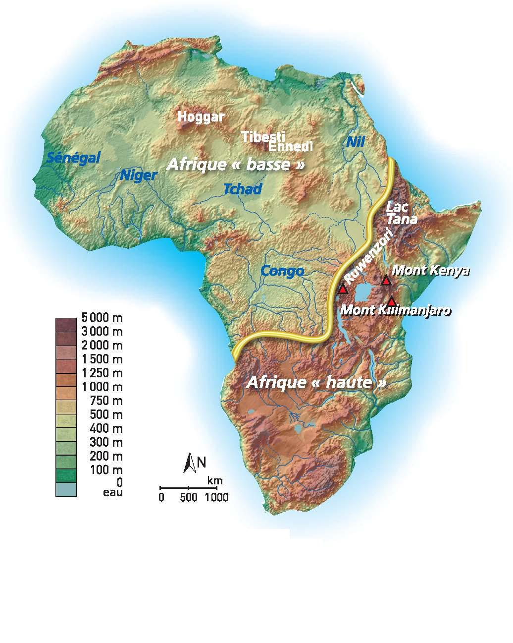 Poissons D'afrique Et Peuples De L'eau - L'afrique Des encequiconcerne Les Fleuves En France Cycle 3