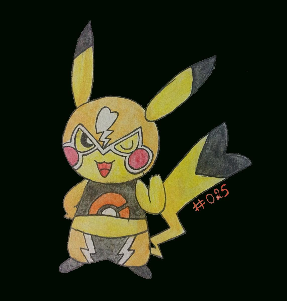Pokémon De La Semaine N°109 Et Vos Dessins De Pikachu destiné Dessin De Pikachu Facile