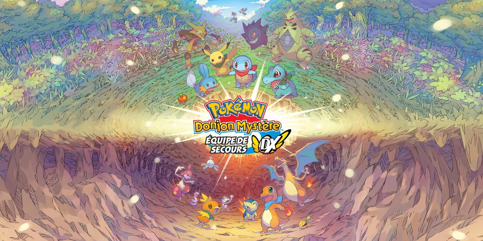 Pokémon Donjon Mystère : Équipe De Secours Dx | Nintendo tout Jeux De Catastrophe Naturel Gratuit