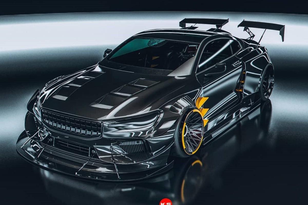 Polestar 1 (2019) : La Voiture Star Du Jeu Need For Speed destiné Jeux De Voiture Jaune