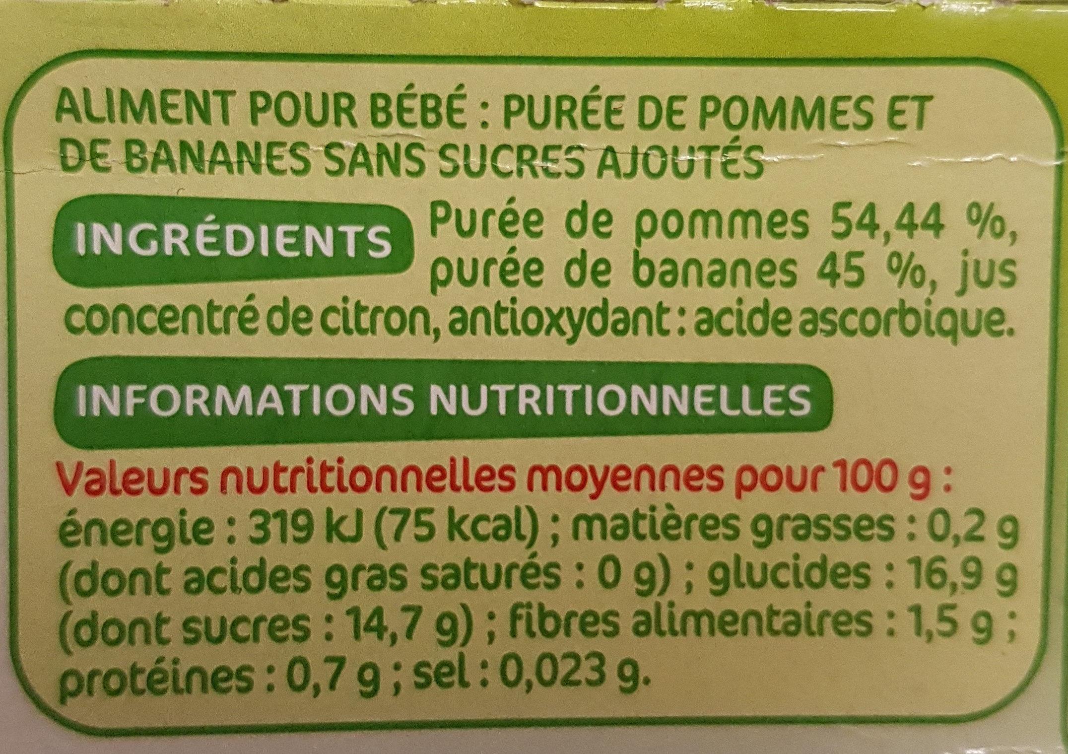 Pomme Banane Mot D'enfant - Mots D'enfants - 4 X 100G concernant Mot Pour Enfant