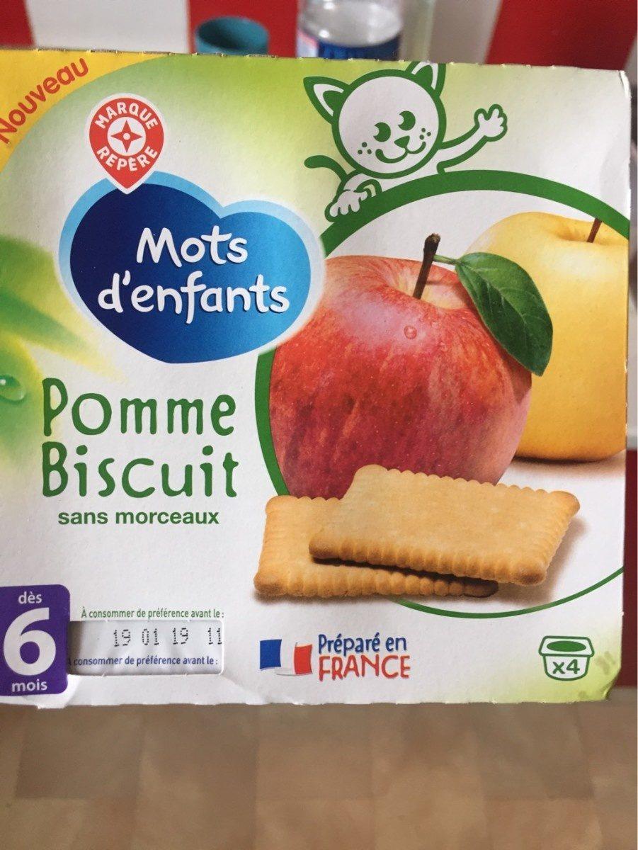 Pomme Biscuit - Mots D'enfants serapportantà Mot Pour Enfant
