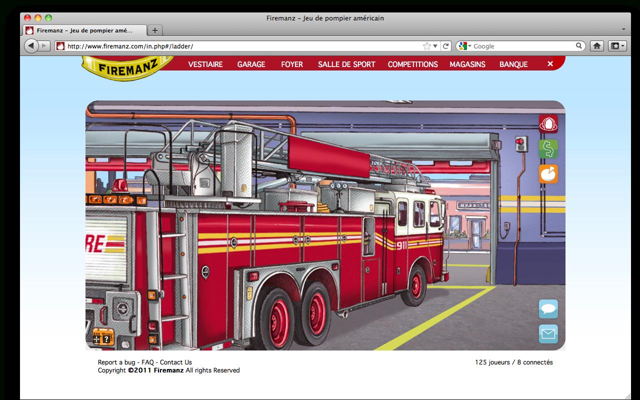 Pompier | Blog De Jeux Internet destiné Jeux De Camion De Pompier Gratuit