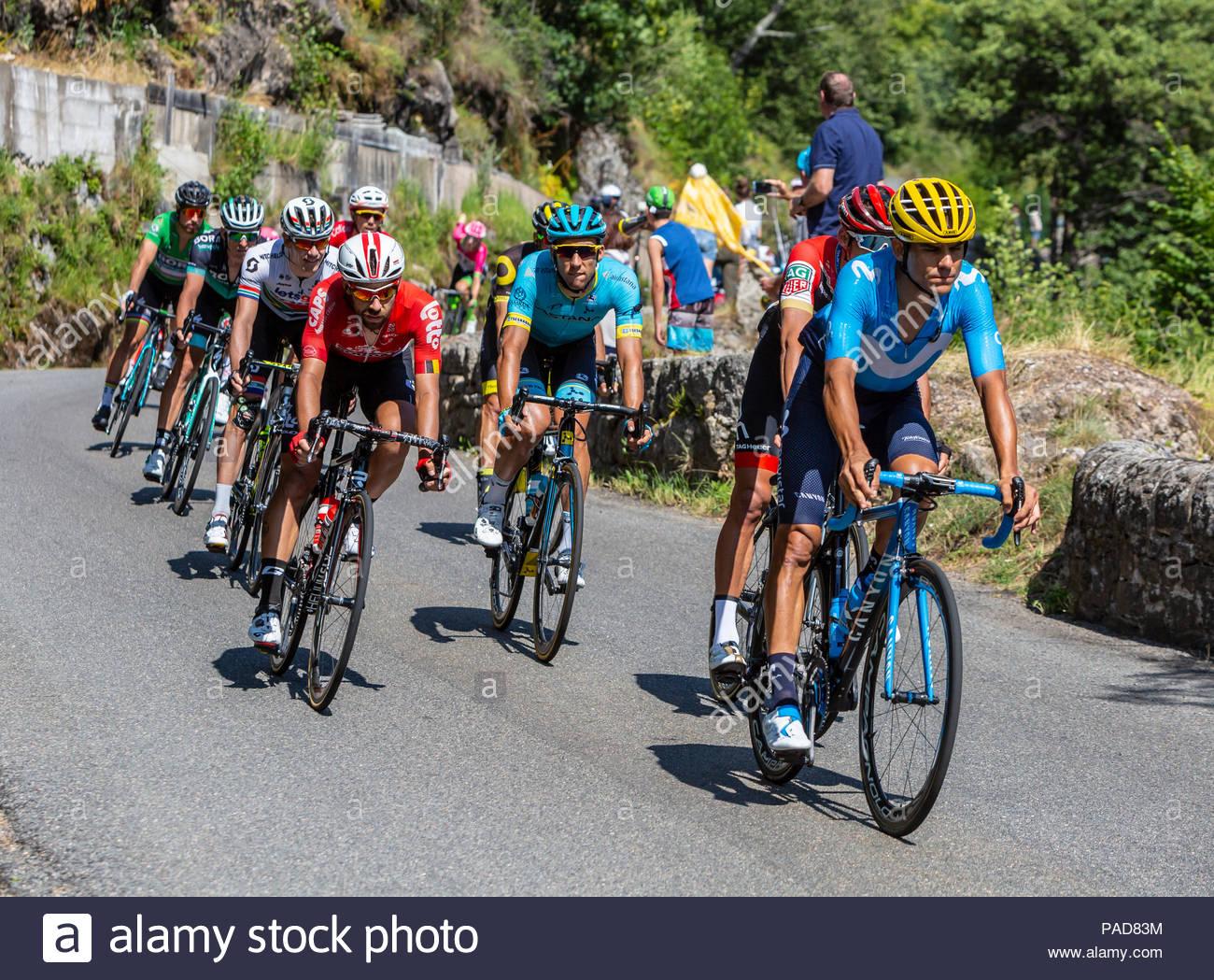 Pont-De-Montvert-Sud-Mont-Lozere, France - July 21, 2018 tout Region De France 2018
