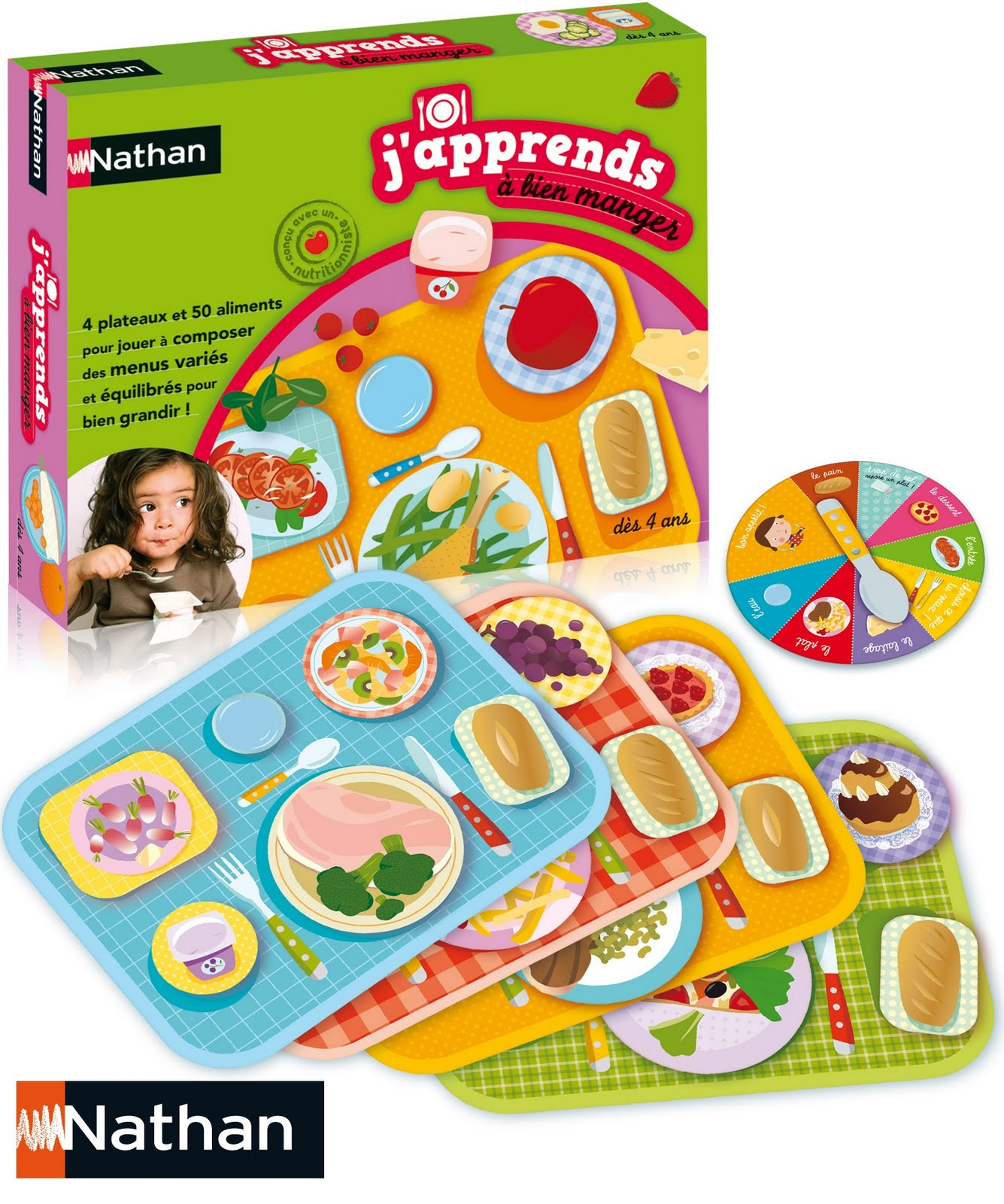 Potins Enfantins: Pour Bien Manger En S'amusant. serapportantà Jeux Pour Manger