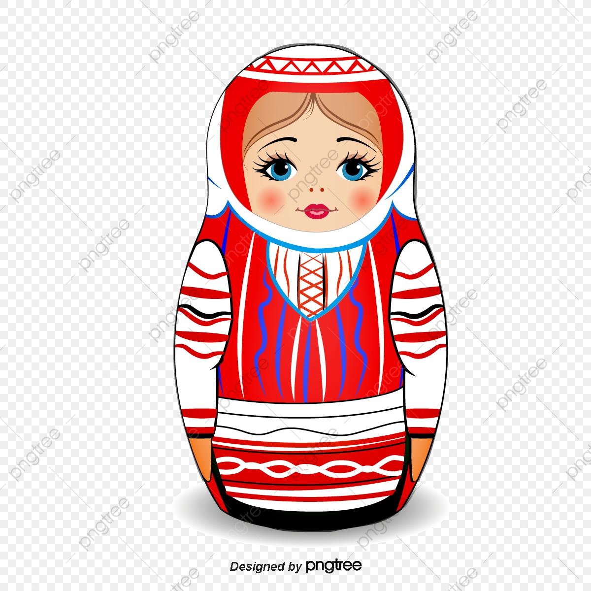 Poupée Russe, Belle Poupée Russe Png Et Vecteur Pour à Nom Poupée Russe