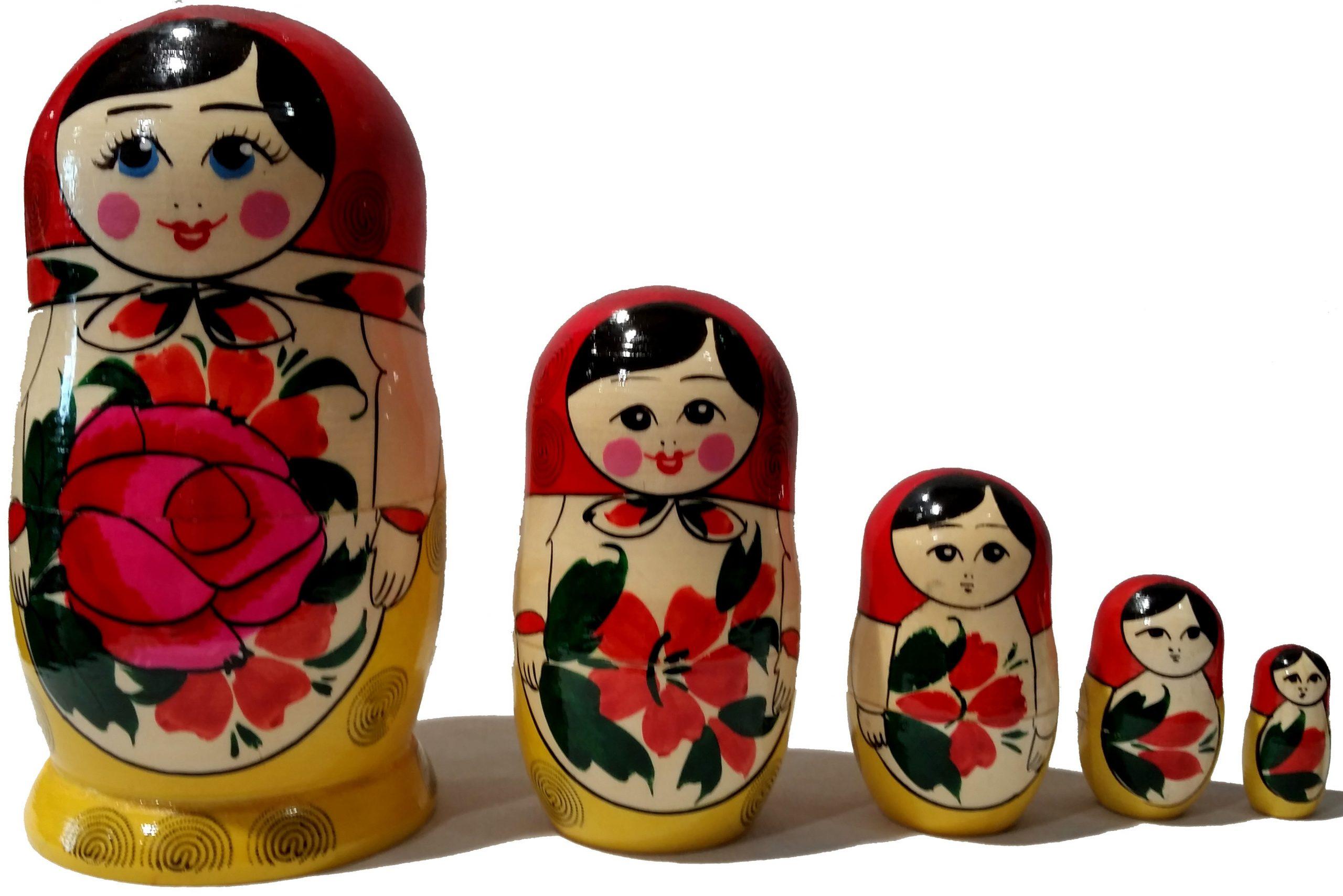 Poupée Russe Traditionnelle - Tendance Russe tout Nom Poupée Russe