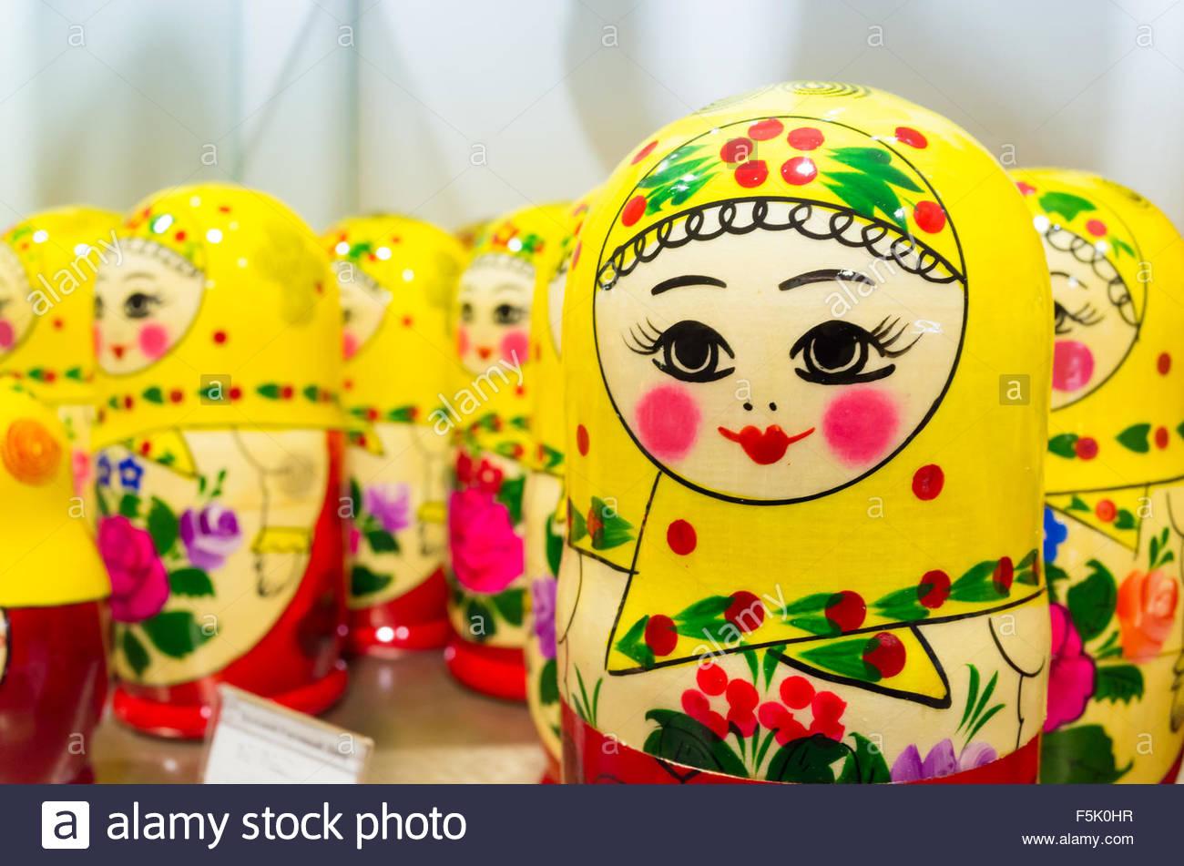 Poupées Matriochka Colorés, Également Connu Sous Le Nom De dedans Nom Poupée Russe