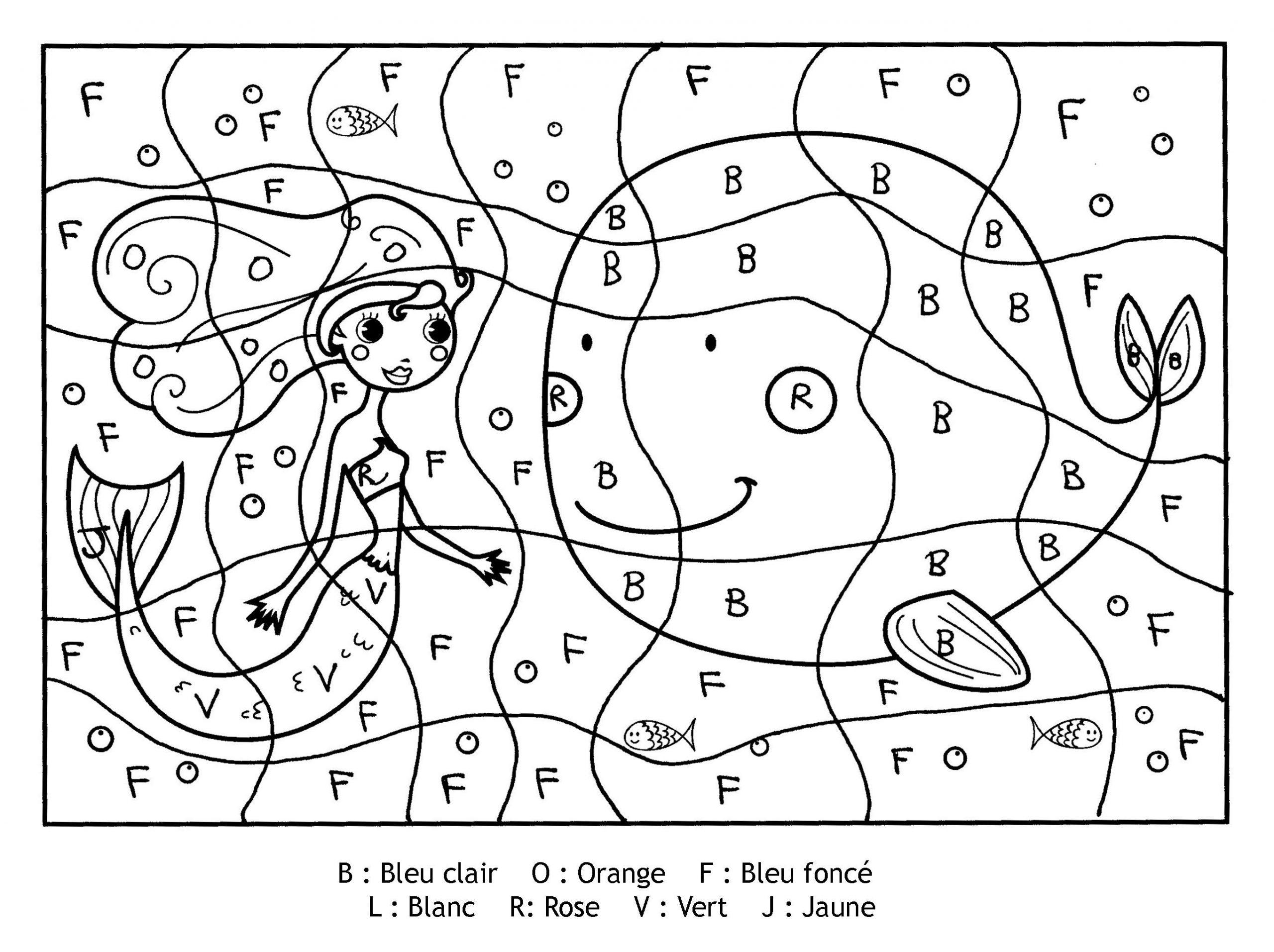 Pour Imprimer Ce Coloriage Gratuit «Coloriage-Magique à Coloriage Codé Maternelle