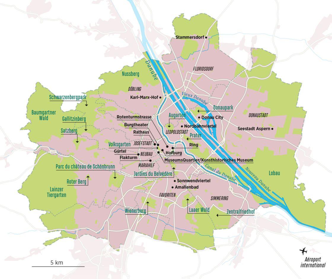 Pourquoi Vienne Est La Ville La Plus Agréable Du Monde - Geo.fr concernant Europe Carte Capitale