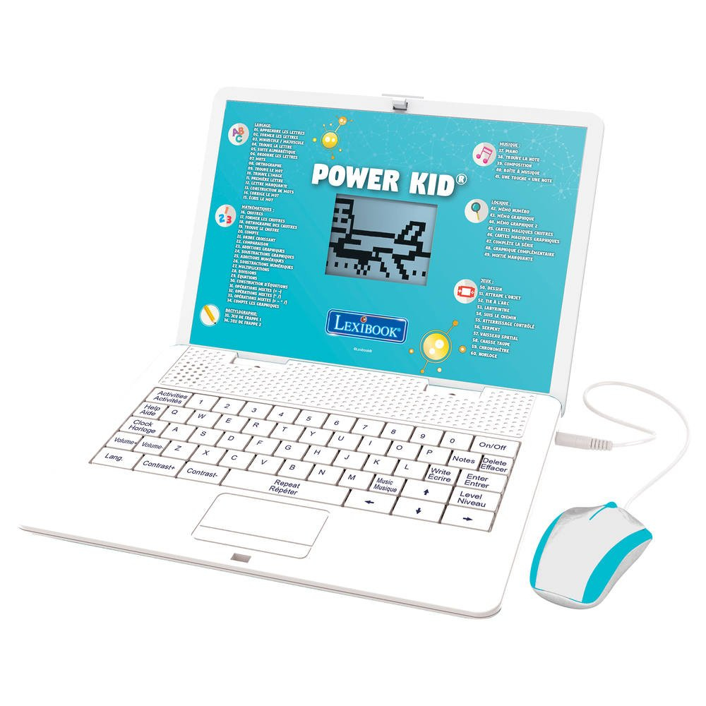 Power Kid Ordinateur Éducatif Bilingue - 120 Activités Français-Anglais serapportantà Ordinateur Educatif Enfant