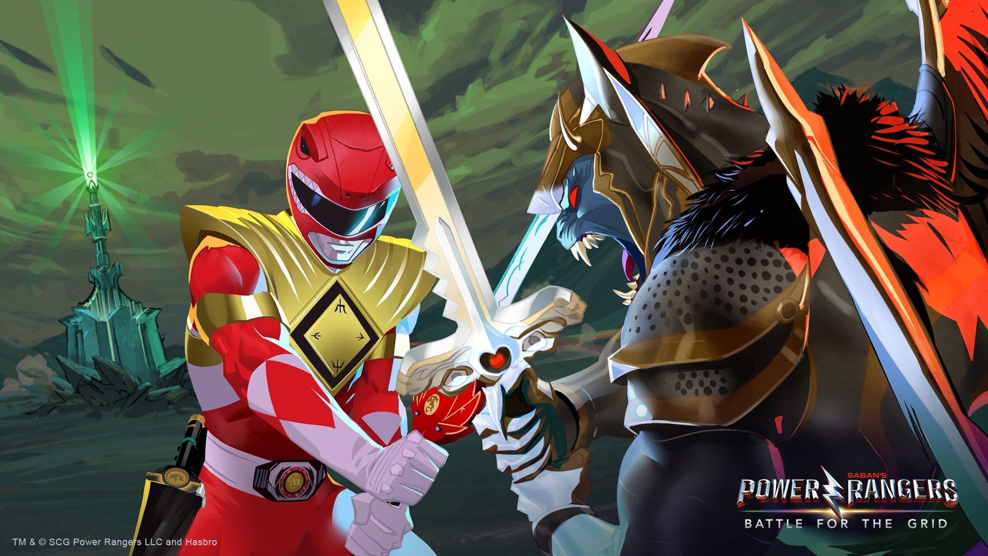 Power Rangers Se Transforme Pour Ajouter Un Jeu Croisé Entre concernant Jeu Quatre Images