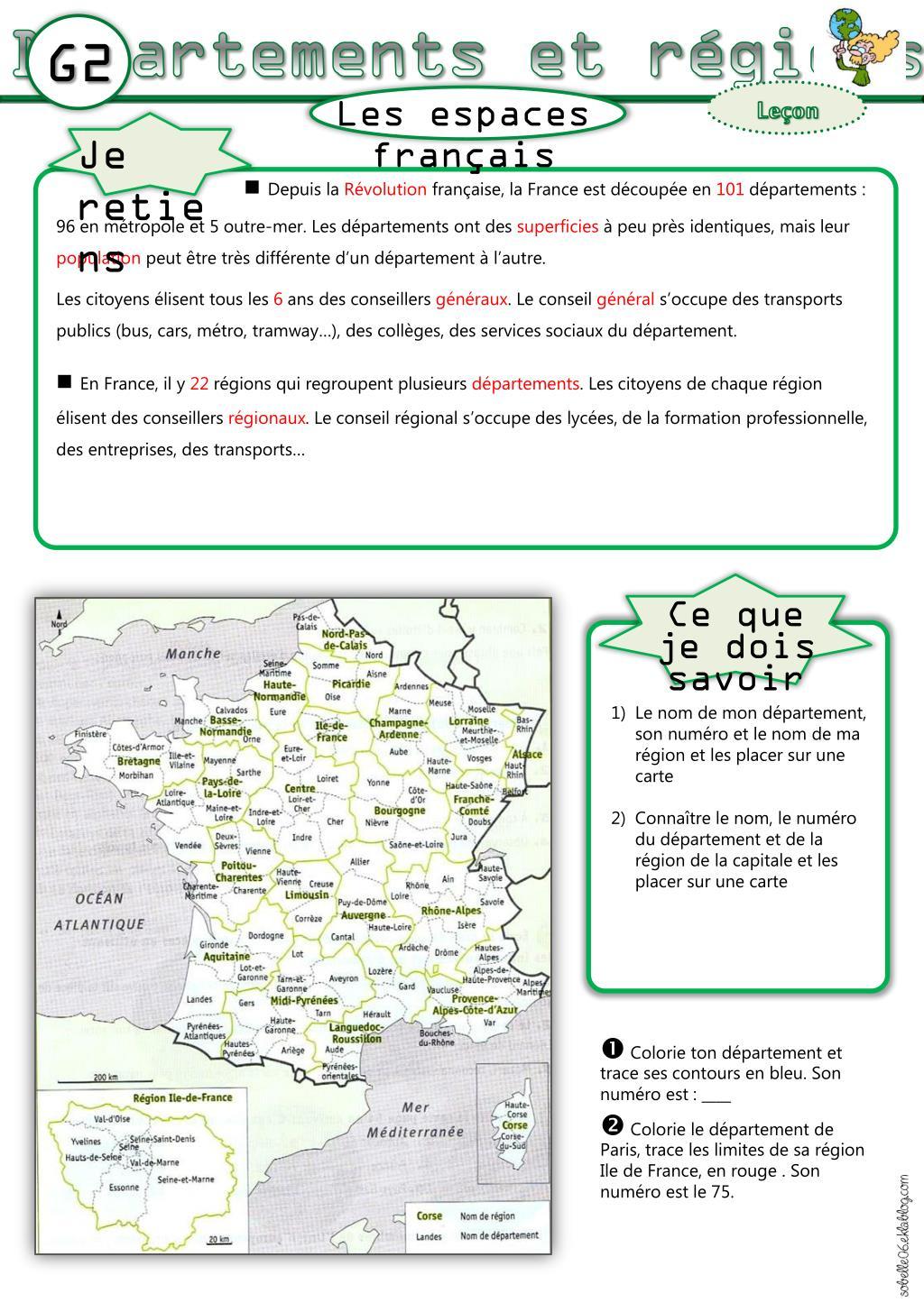 Ppt - Les Départements De France Powerpoint Presentation pour Numéro Des Départements