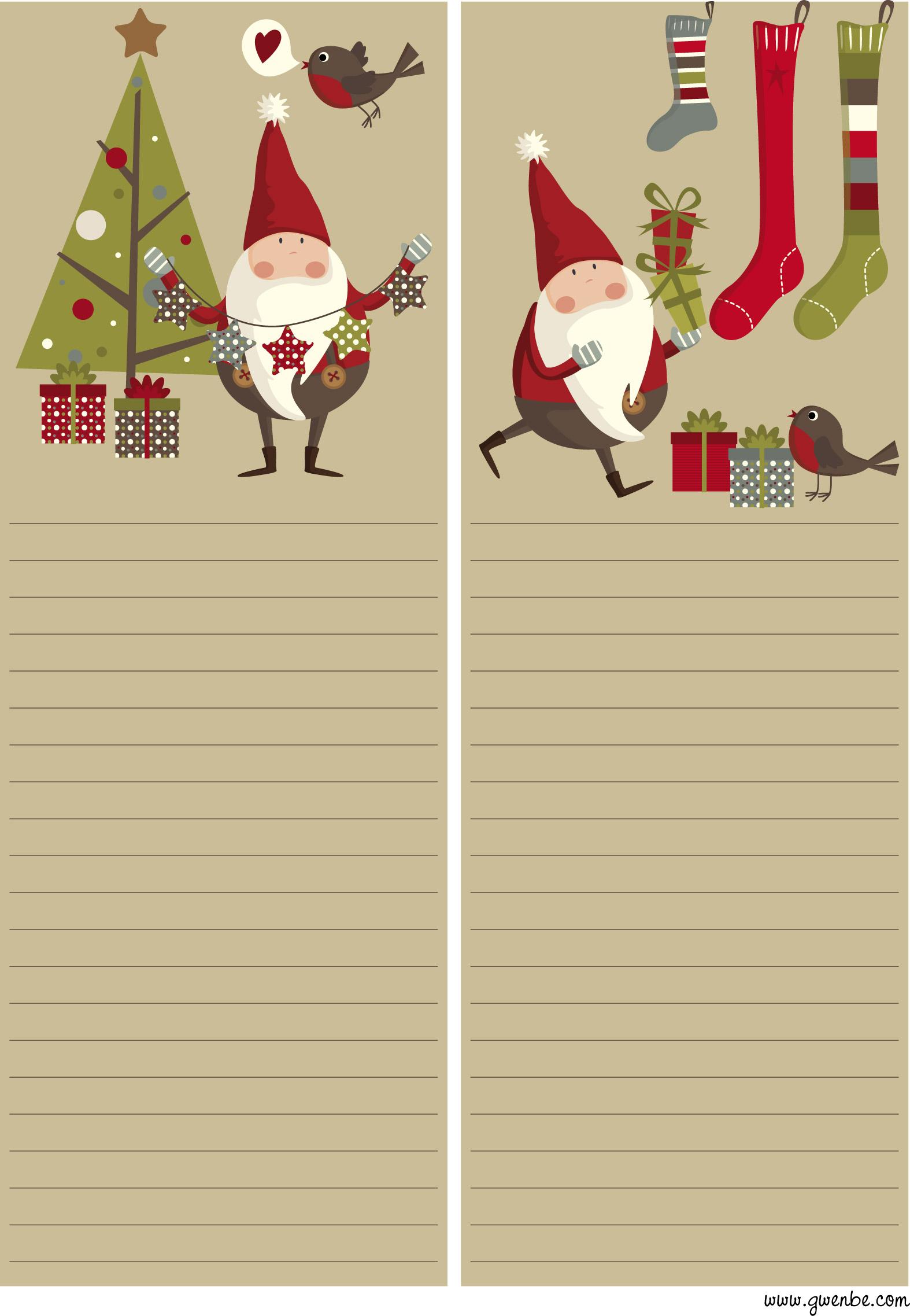 Ppt] Papier A Lettre Noel destiné Papier Lettre De Noel
