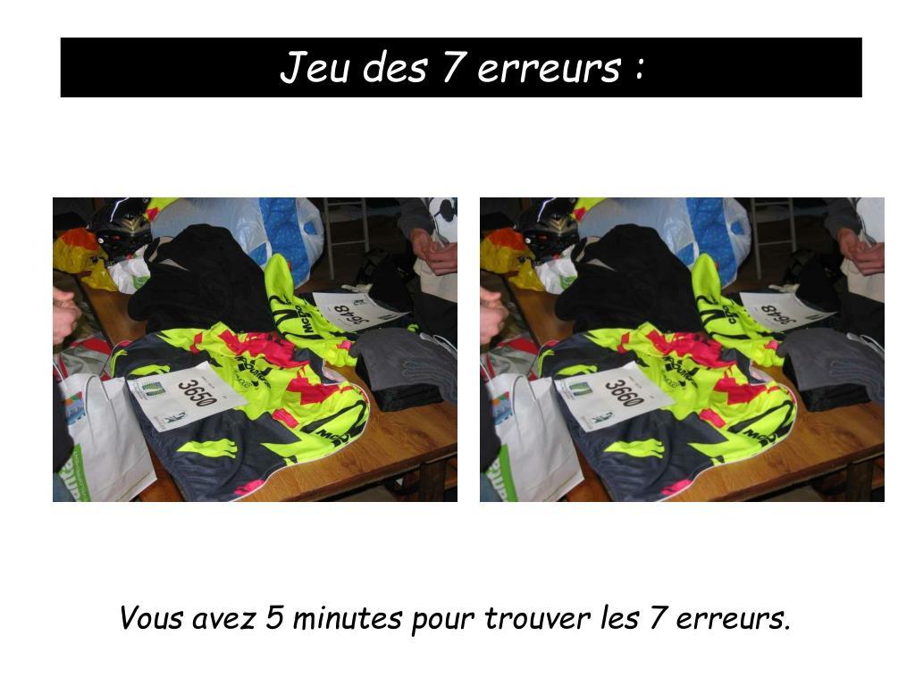 Ppt - Règle Du Jeu : 2 Photos , Et Il Faut Trouver Les 7 dedans Trouver Les 7 Erreurs