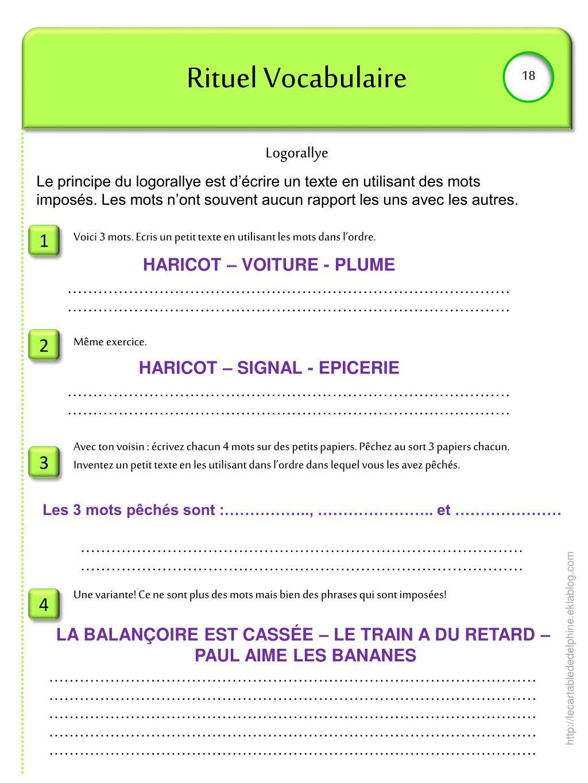 Ppt - Rituel Vocabulaire Powerpoint Presentation, Free à Dictionnaire Des Mots Croisés Gator