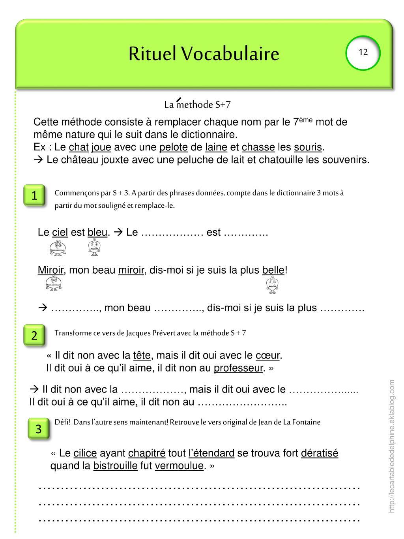 Ppt - Rituel Vocabulaire Powerpoint Presentation, Free intérieur Dictionnaire Des Mots Croisés Gator