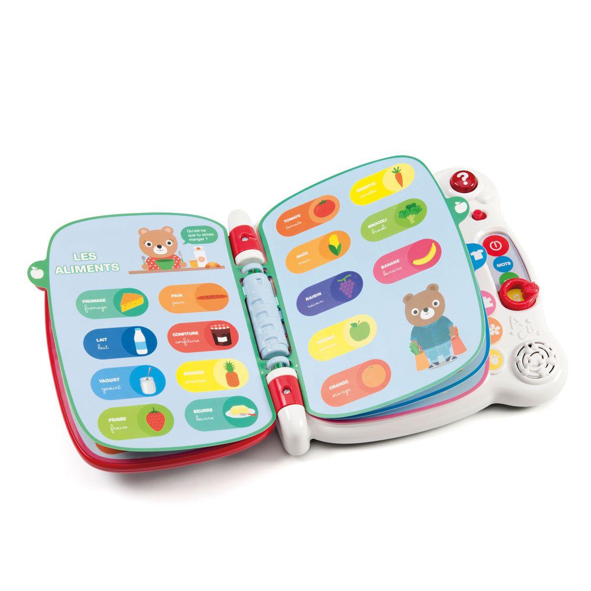 Premier Imagier Interactif Vtech | Premiers Sons, Jeux Pour pour Jeu Interactif Enfant