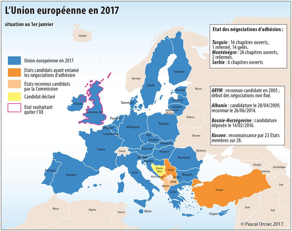 Première Partie : 3Ème Chapitre - Vie-Nouvelle tout Carte De L Europe 2017