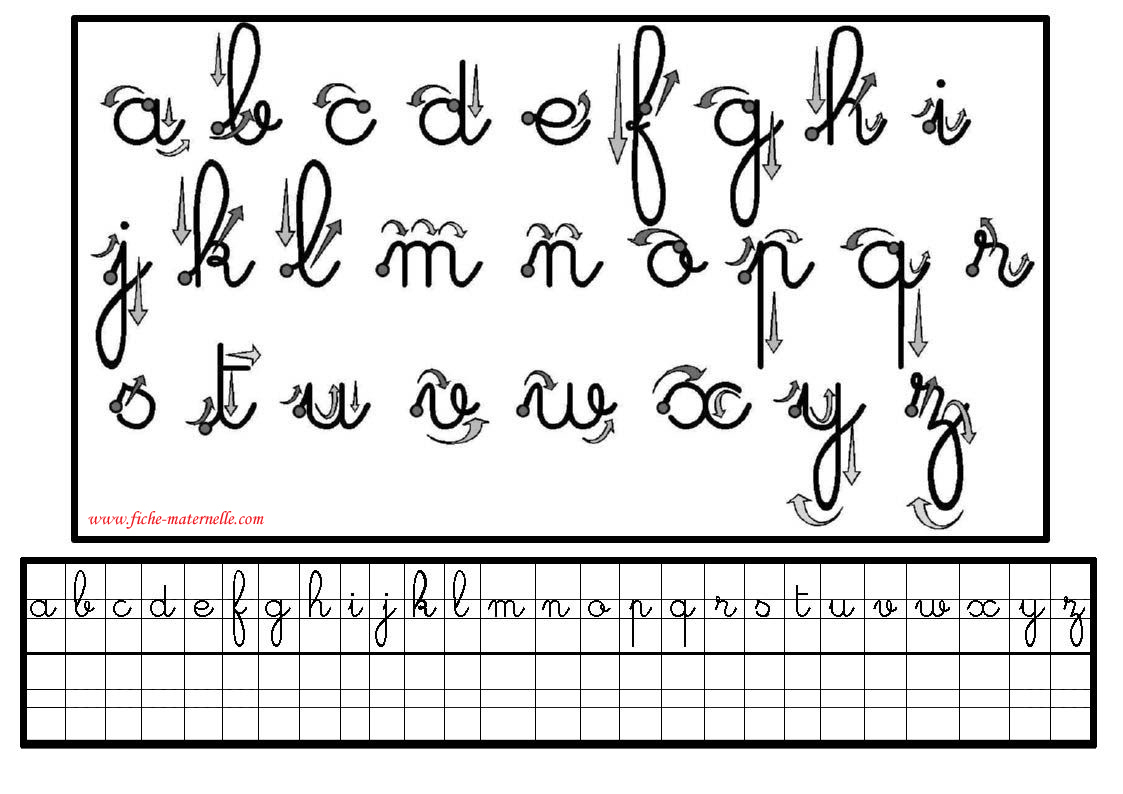 Préparation Au Cp : Écriture En Maternelle Et Cp tout Apprendre A Ecrire Les Lettres En Minuscule