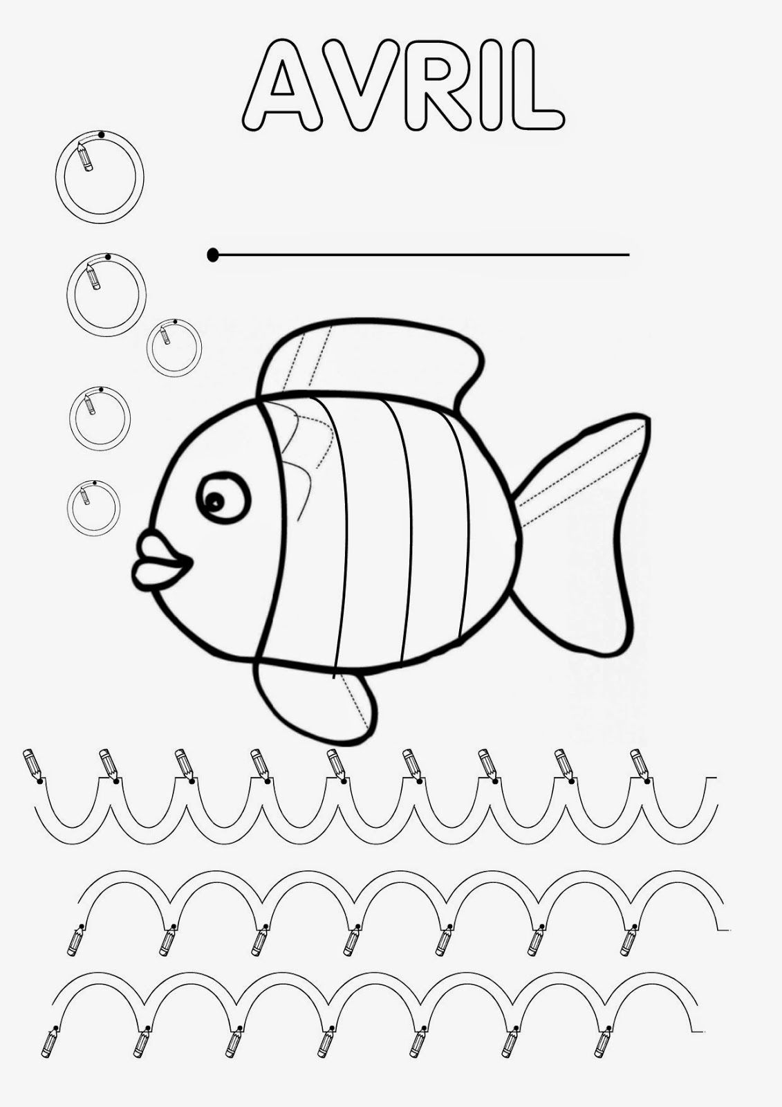 Présentation Classeur #5 - Avril (Ma Petite Maternelle pour Livre Graphisme Maternelle