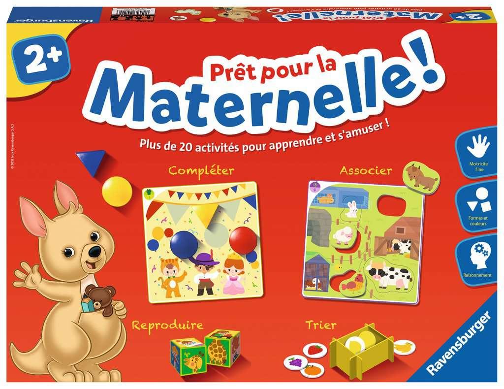 Prêt Pour La Maternelle ! à Jeux Educatif 3 Ans