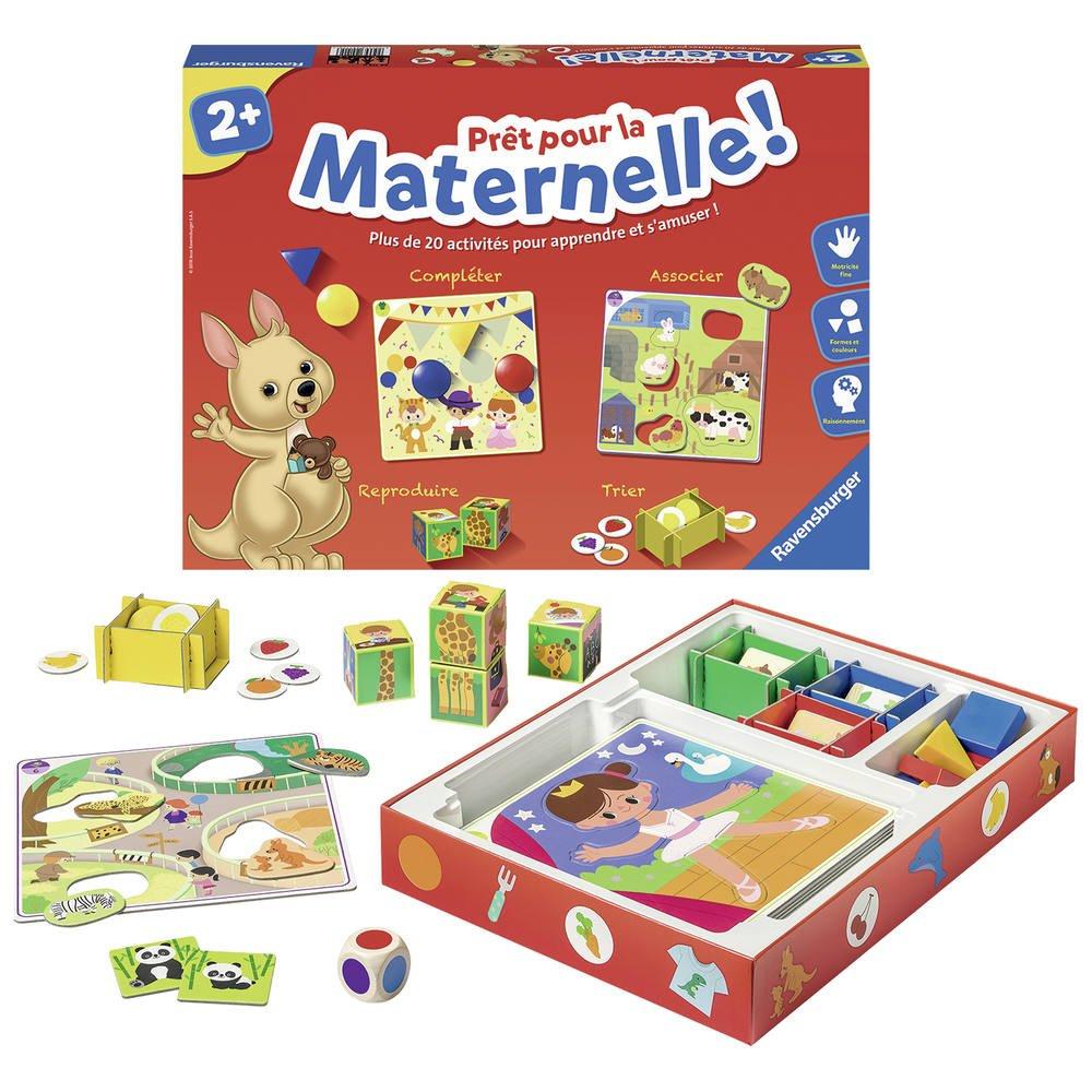 Pret Pour La Maternelle dedans Jeu Educatif Maternelle